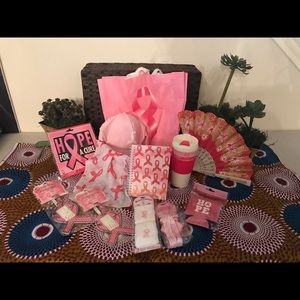 Accessories - NWT Breast Cancer Awareness Set all $ for charity