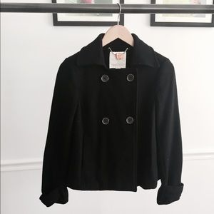 Old Navy Double Breasted Black Jacket