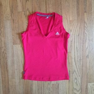 Fitted 3/4 Crop Length Addidas Tank