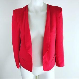 Forever 21 Red Career Blazer Jacket Large L