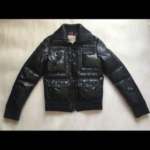 Moncler Short Down Black Jacket