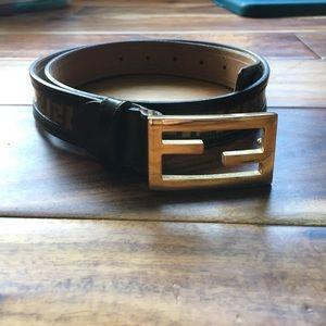 Authentic Fendi women's belt