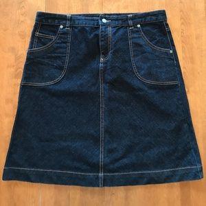 Banana Republic Jean Skirt- Size 12