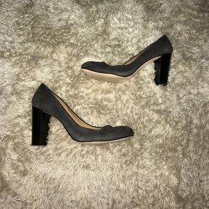 Ann Taylor Gray Suede