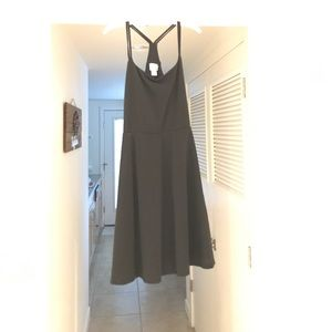 Black Razorback Sundress
