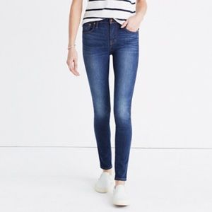 Madewell High Riser Skinny Skinny Cropped Jeans