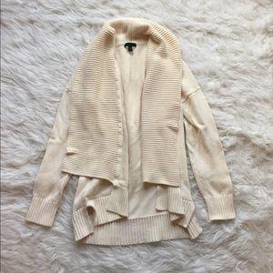 Jcrew cream knit Sweater Sz: S