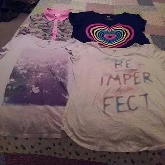 Old Navy Other - Lot of 4 girls tops