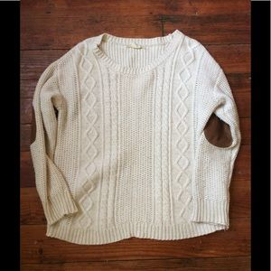 Coincidence and chance UO elbow patch sweater M