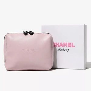Chanel VIP cosmetic make up beauty travel purse