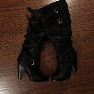 JustFab boots, size 6.5