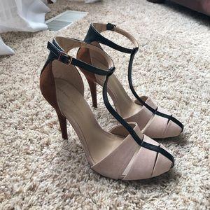 Zara multi tone heels