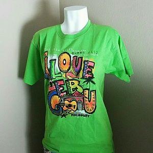 Tops - A green Cebu T-shirt