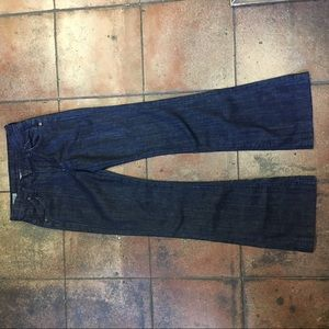 Citizens of humanity high rise wide leg jeans