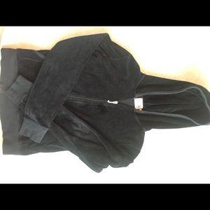Juicy Couture Black Hoodie Jacket
