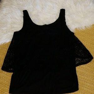 Lace/ Crochet Overlay TORRID TANK
