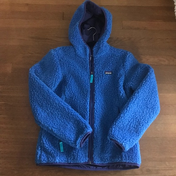 Women s Patagonia Retro Pile Hooded Jacket. M 59c43639eaf0304c2802750a bf43c2d66