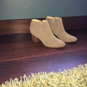 Sole Society River Ankle Bootie in Taupe, 7.5 NWOT