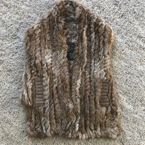Marc Jacobs Fur Vest