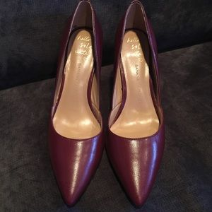 👠Banana Republic Burgundy Pumps Heels Ox Blood