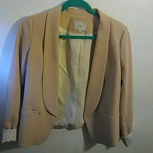 Nude colored blazer