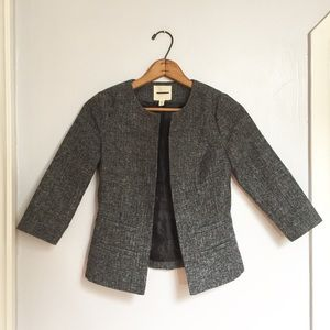Urban Outfitters silence + noise gray tweed blazer
