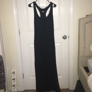 Mossimo Supply Co black maxi dress