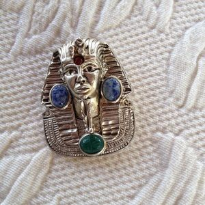 Jewelry - Egyptian Pharaoh Pin Brooch