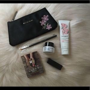 Makeup bundle with bag