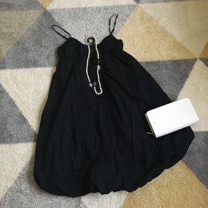 Black Gap Bubble dress
