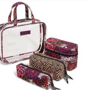 Vera bradley travel set