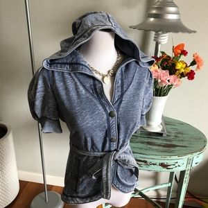 juicy couture NWT snap front jacket