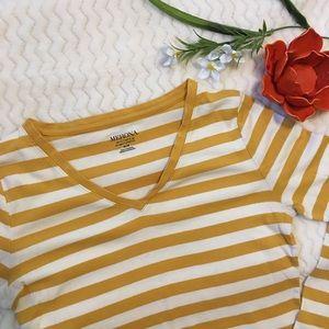 MERONA striped T-shirt/ Size M