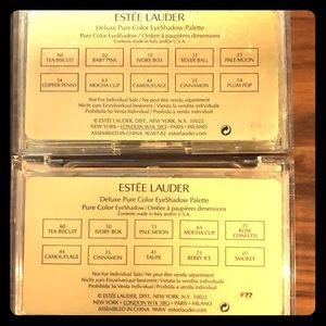 2 Eyeshadow Pallets - Estee Lauder (20 shades)