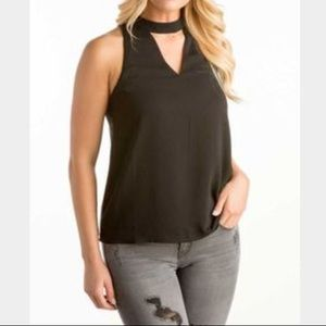 Tops - NWT Sleeveless top with cutout neckline 🎉HP🎉