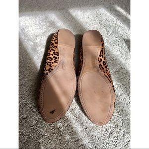 Banana Republic Shoes - Banana Republic Leopard Calf Hair Ballerina Flats