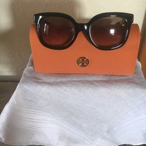 83a48a63126 Tory Burch Accessories - Authentic ❤️Tory Burch TY 7104 Blk   Dark Brown