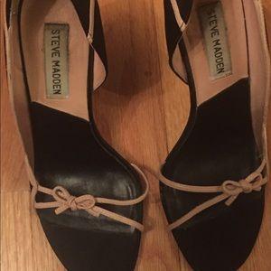 Steve Madden black shoes