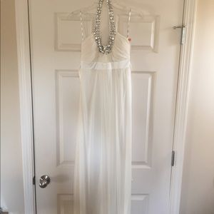 XOXO White Maxi Dress