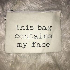 Sassy makeup bag