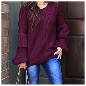 🆕 Paris bell sleeves sweater
