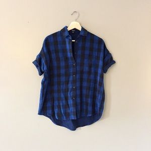 Madewell Blue Courier Shirt XXS