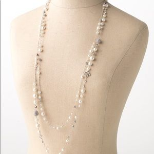 Stella and Dot Madeline pearl necklace