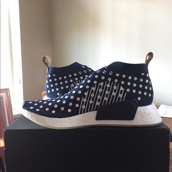 le adidas donne originali nmd cs2 polka dot marina poshmark