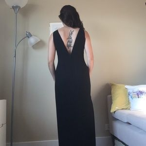 Floor-length Ellen Tracy Gown