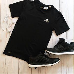 ADIDAS Short Sleeve T-Shirt - black