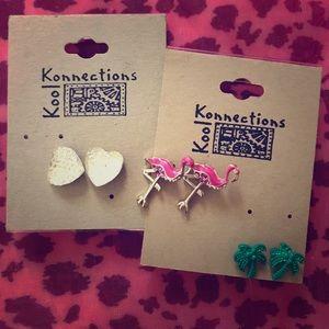 3 NWT earrings