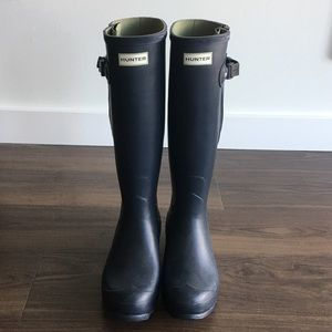 Women's Hunter Boots - adjustable calf - Size 11