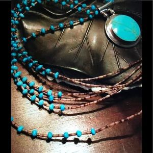 Jewelry - AVAILABLE Heishi Bead Turquoise Necklace