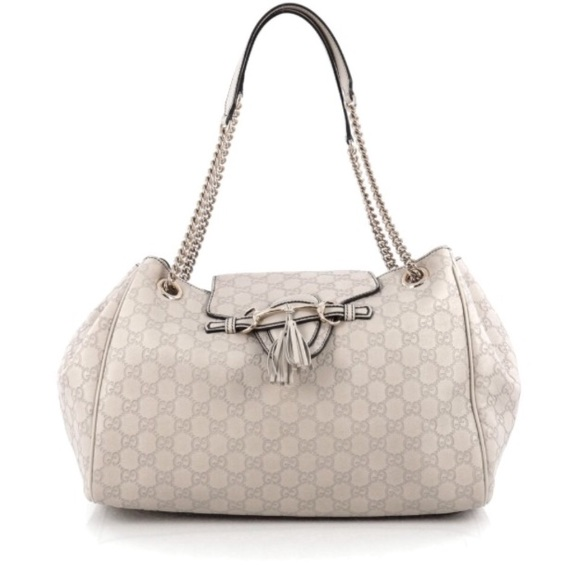 9386f224e48439 Gucci Handbags - ❤️Emily Flap Large Leather Bag Guccissima